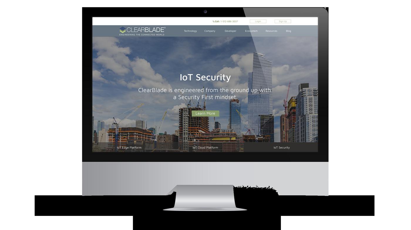 ThreeTwelve ClearBlade Website Redesign