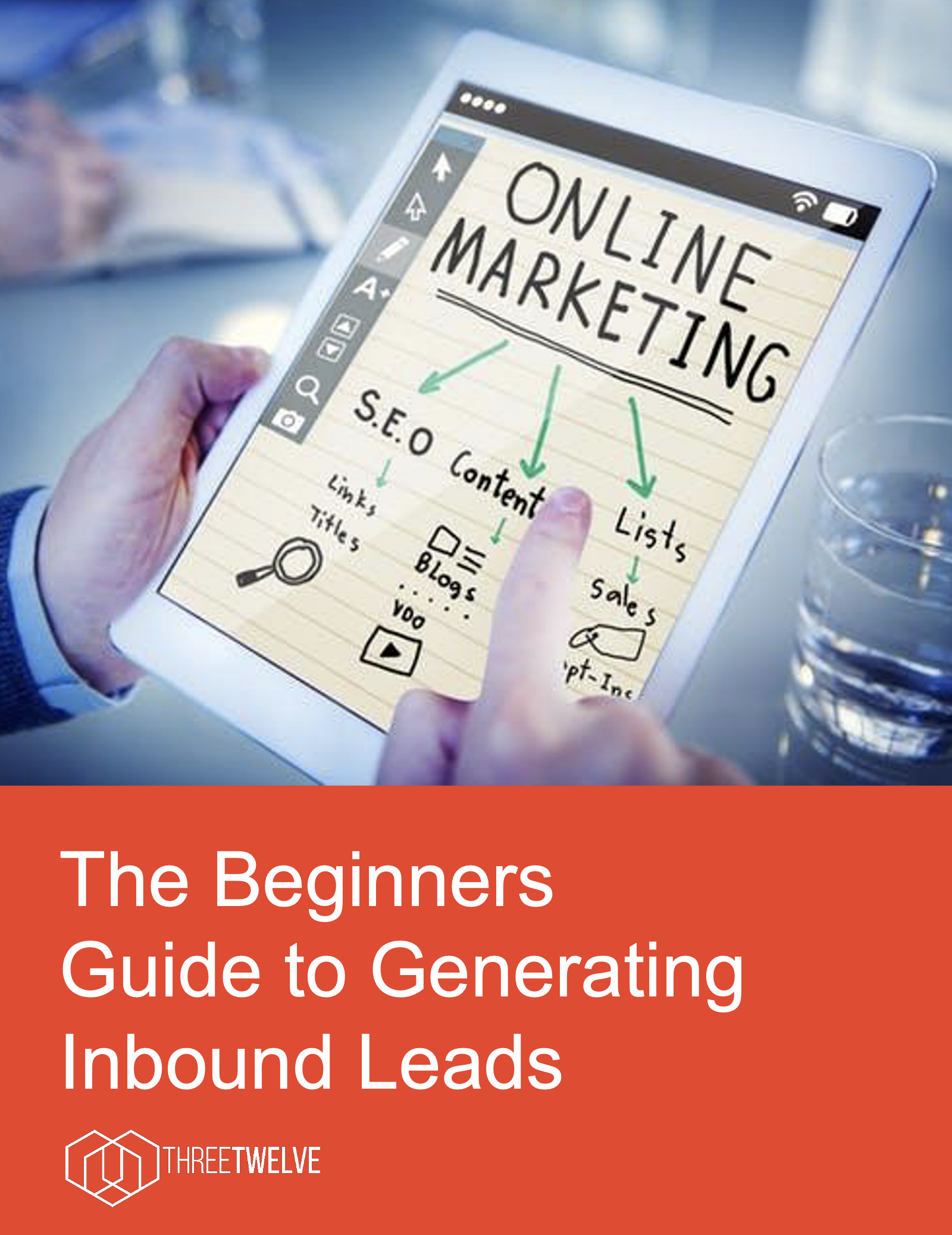 ThreeTwelve's generating leads eBook cover
